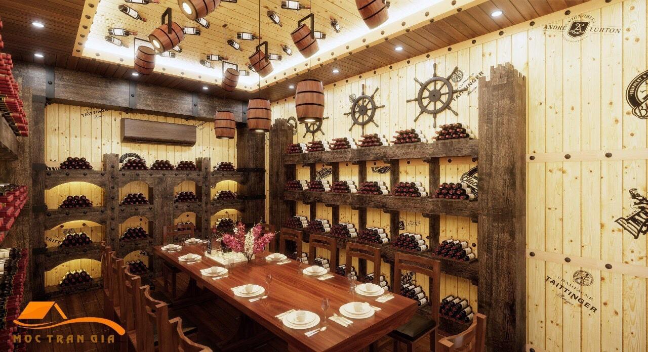 Nhà Hàng Hầm Rượu Đẹp 059GT