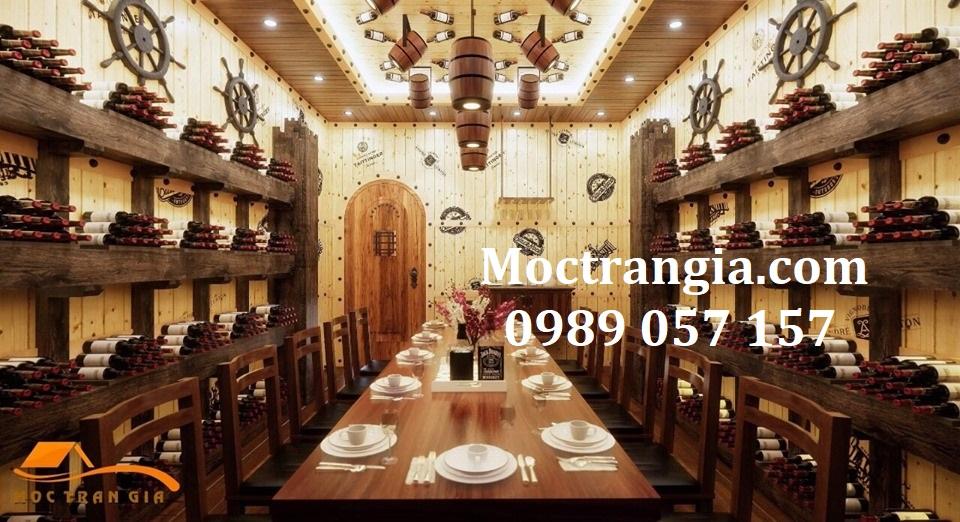 Nhà Hàng Hầm Rượu Đẹp 061GT