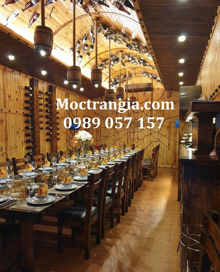 Nhà Hàng Hầm Rượu Đẹp 063GT