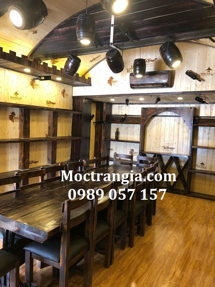 Nhà Hàng Hầm Rượu Đẹp 064GT