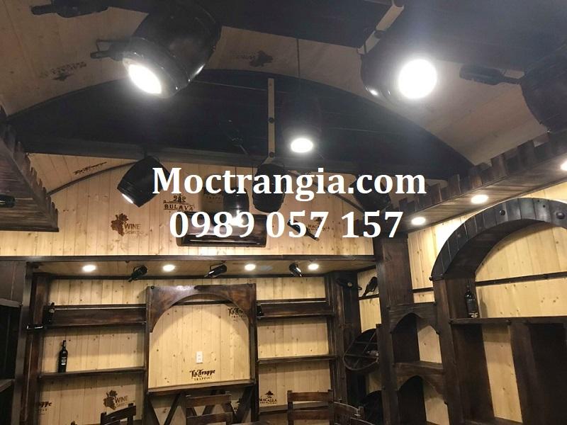 Nhà Hàng Hầm Rượu Đẹp 067GT