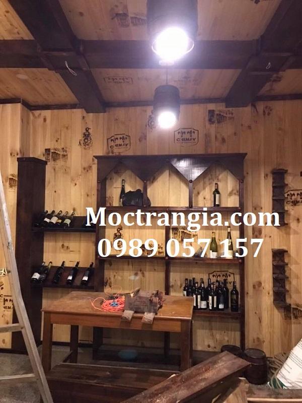 Nhà Hàng Hầm Rượu Đẹp 068GT