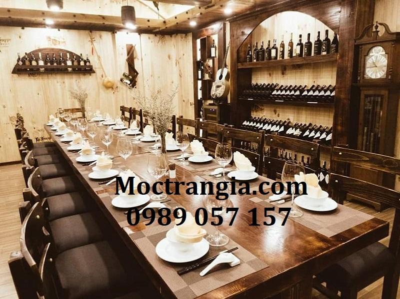 Nhà Hàng Hầm Rượu Đẹp 069GT