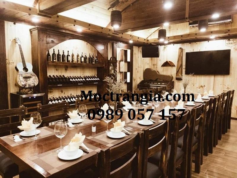 Nhà Hàng Hầm Rượu Đẹp 072GT