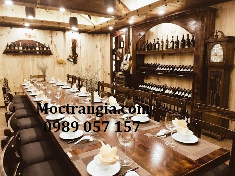 Nhà Hàng Hầm Rượu Đẹp 073GT