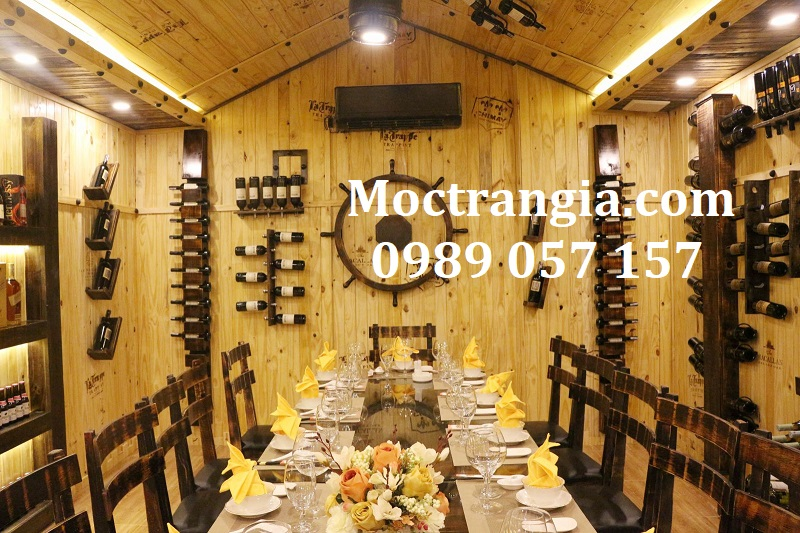 Nhà Hàng Hầm Rượu Đẹp 074GT