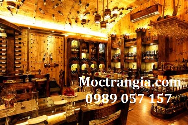 Nở rộ mô hình nhà hàng hầm rượu vang Gò Vấp