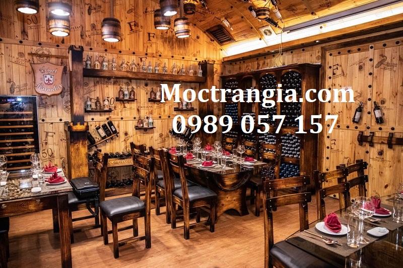 Nhà Hàng Hầm Rượu Đẹp 080GT