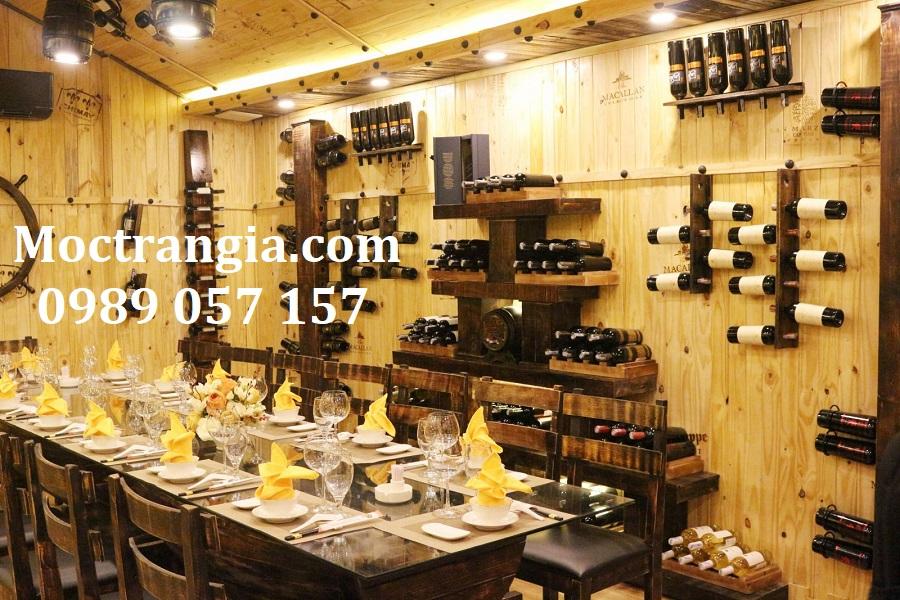 Nhà Hàng Hầm Rượu Đẹp 081GT