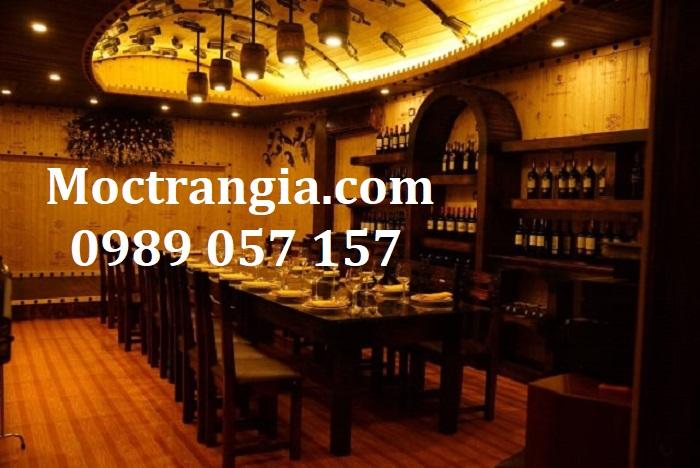 Nhà Hàng Hầm Rượu Đẹp 083GT