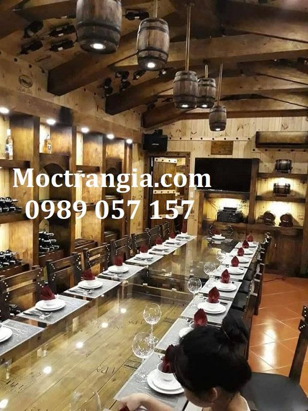 Nhà Hàng Hầm Rượu Đẹp 085GT