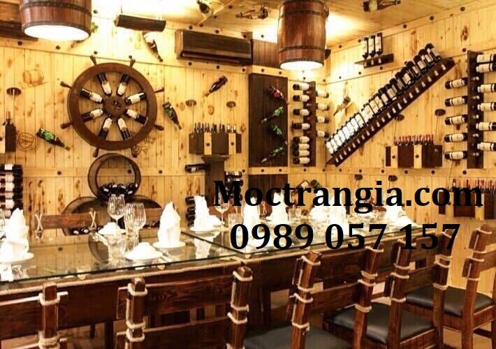 Nhà Hàng Hầm Rượu Đẹp 088GT