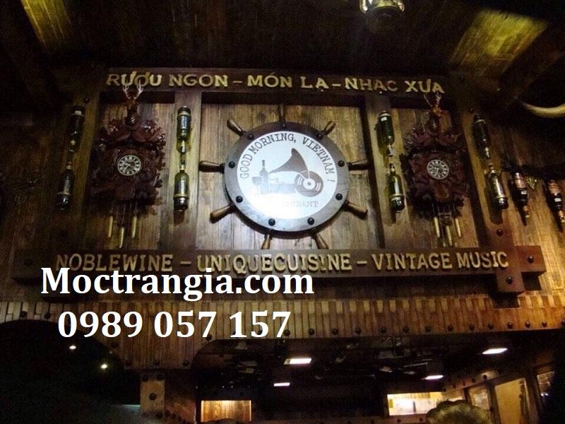Nhà Hàng Hầm Rượu Đẹp 091GT