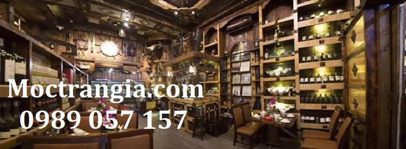 Nhà Hàng Hầm Rượu Đẹp 096GT