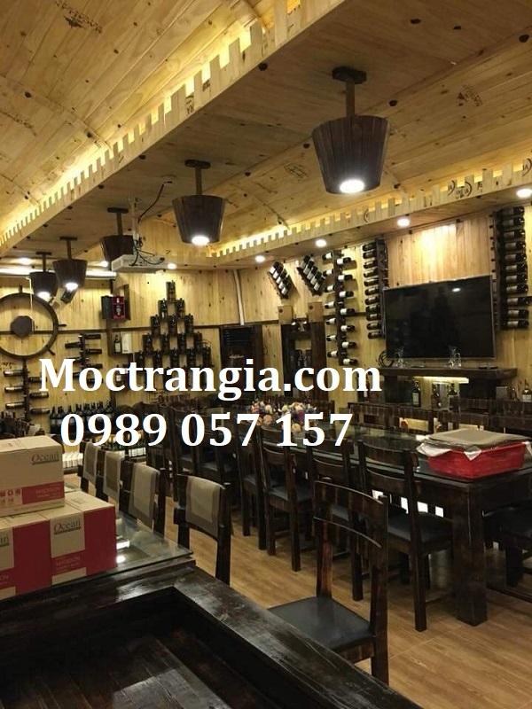 Nhà Hàng Hầm Rượu Đẹp 099GT