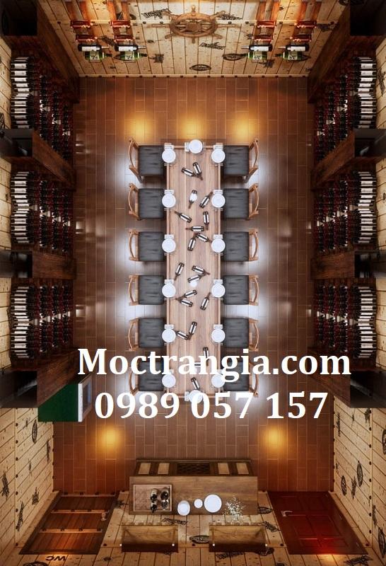 Nhà Hàng Hầm Rượu Đẹp 101GT