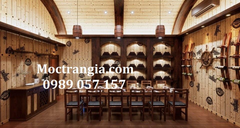 Nhà Hàng Hầm Rượu Đẹp 102GT