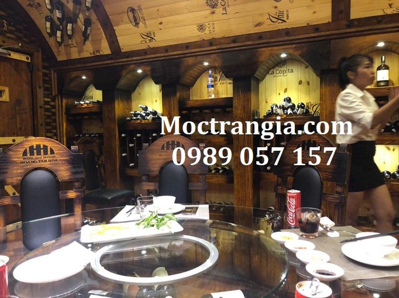 Nhà Hàng Hầm Rượu Đẹp 105GT