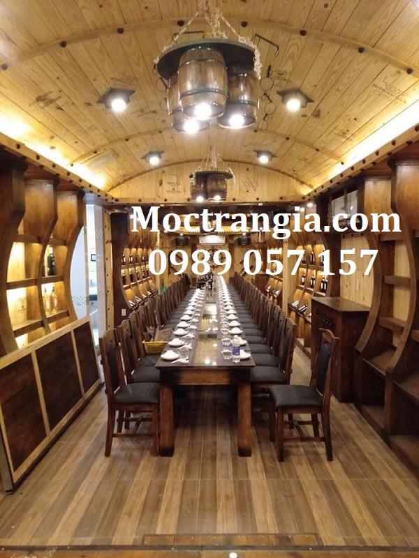 Nhà Hàng Hầm Rượu Đẹp 108GT