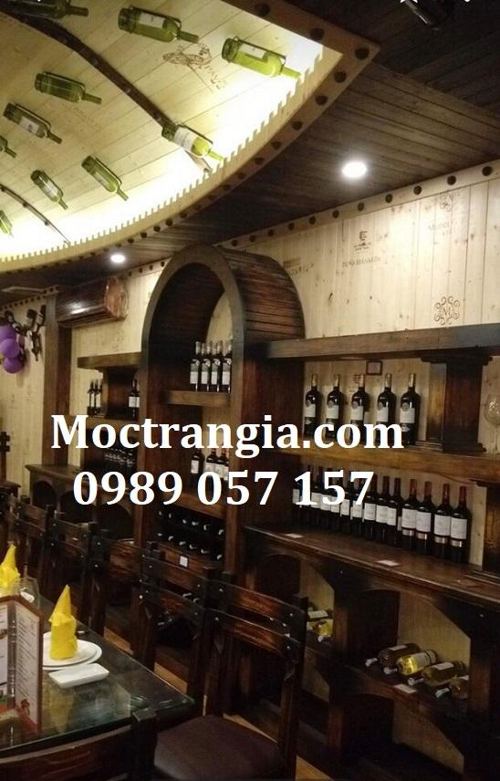 Nhà Hàng Hầm Rượu Đẹp 109GT