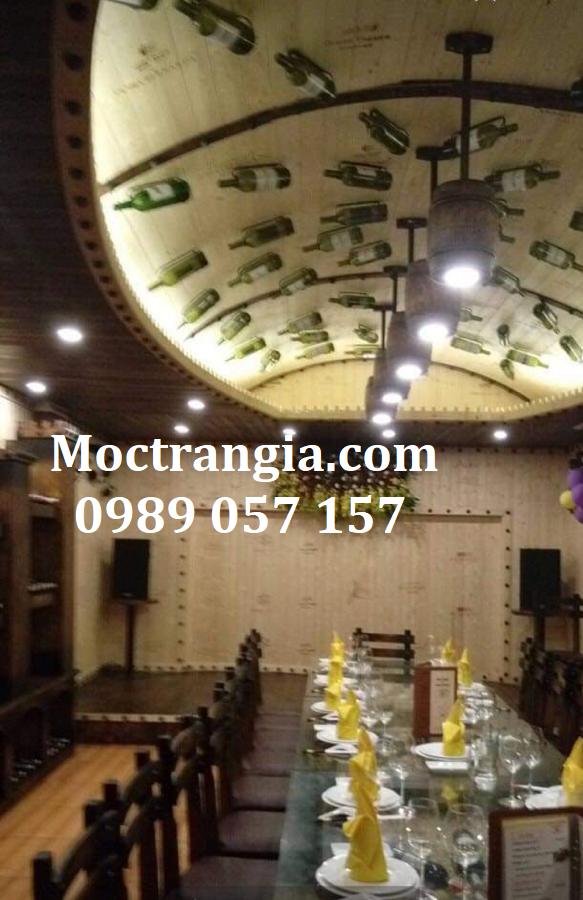 Nhà Hàng Hầm Rượu Đẹp 110GT