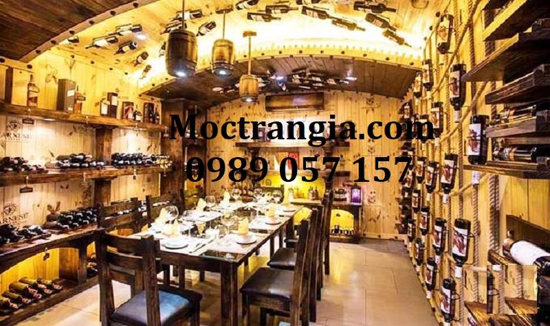 Nhà Hàng Hầm Rượu Đẹp 112GT