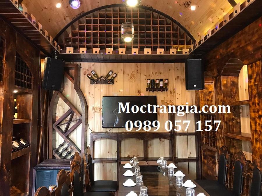 Nhà Hàng Hầm Rượu Đẹp 113GT