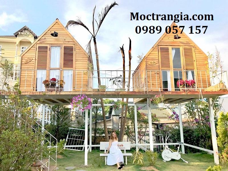 Nhà gỗ Homestay