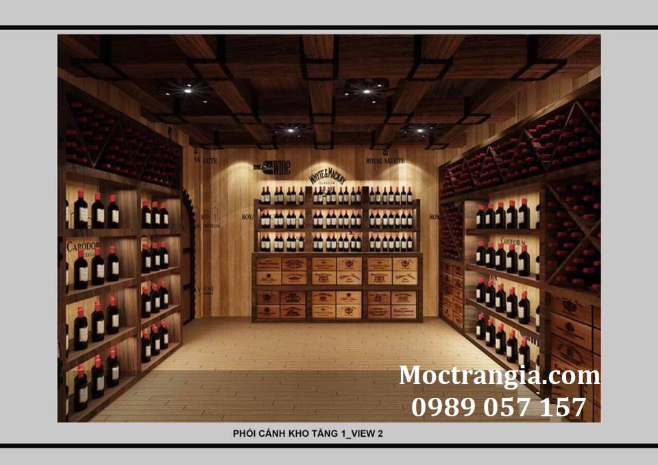 Thi Công Hầm Rượu Đẹp 123GT