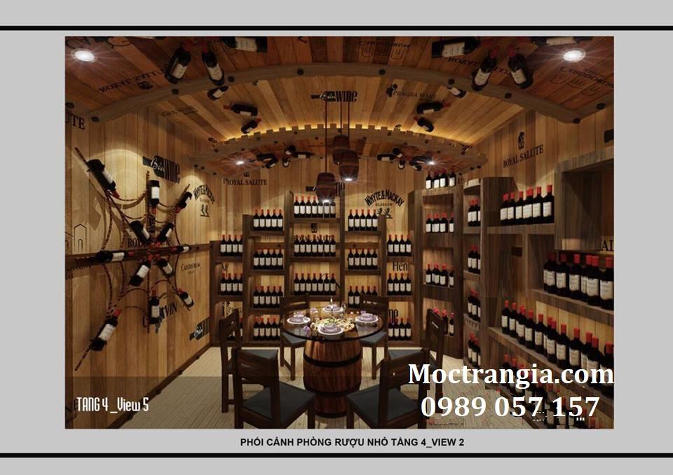 Thi Công Hầm Rượu Đẹp 131GT