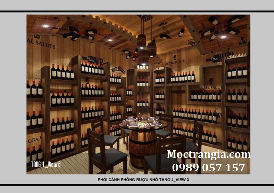 Thi Công Hầm Rượu Đẹp 132GT