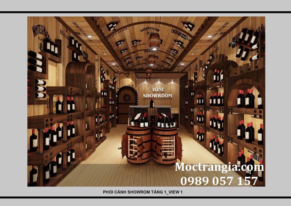 Thi Công Hầm Rượu Đẹp 133GT
