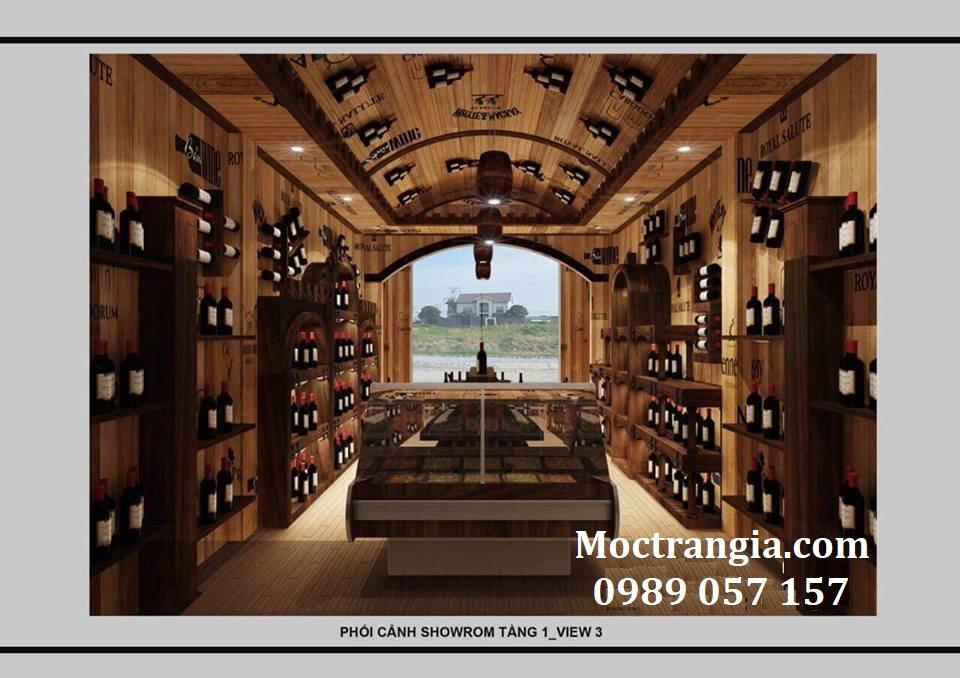 Thi Công Hầm Rượu Đẹp 135GT