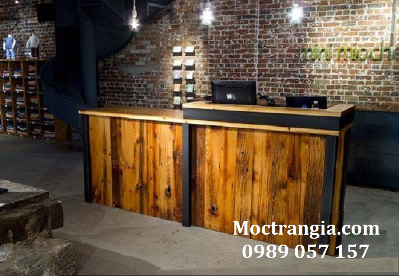 Quầy Bar Cafe Giá Rẻ 040GT