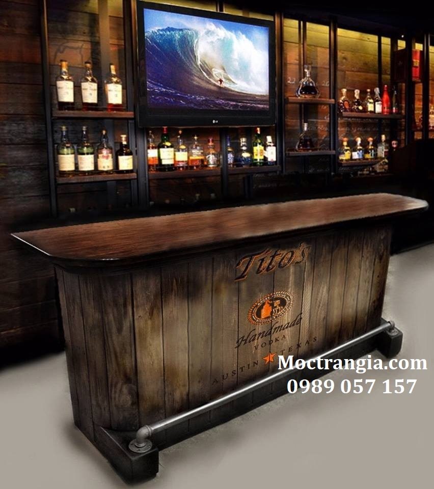 Quầy Bar Cafe Giá Rẻ 066GT