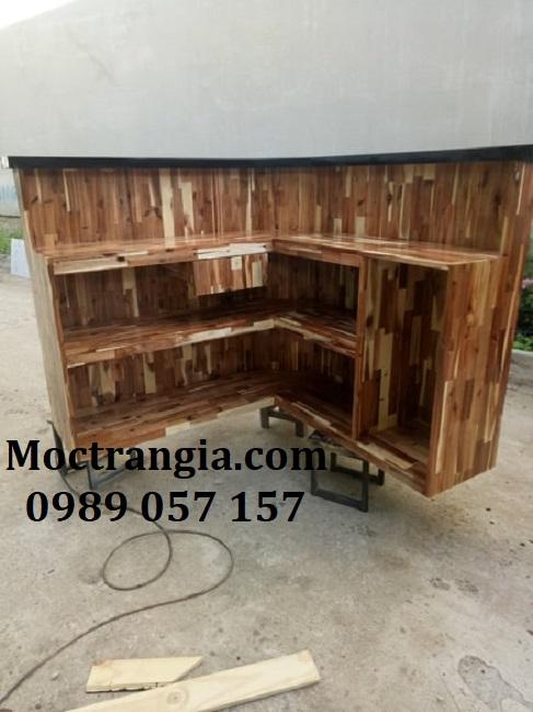 Quầy Bar Cafe Giá Rẻ 074GT