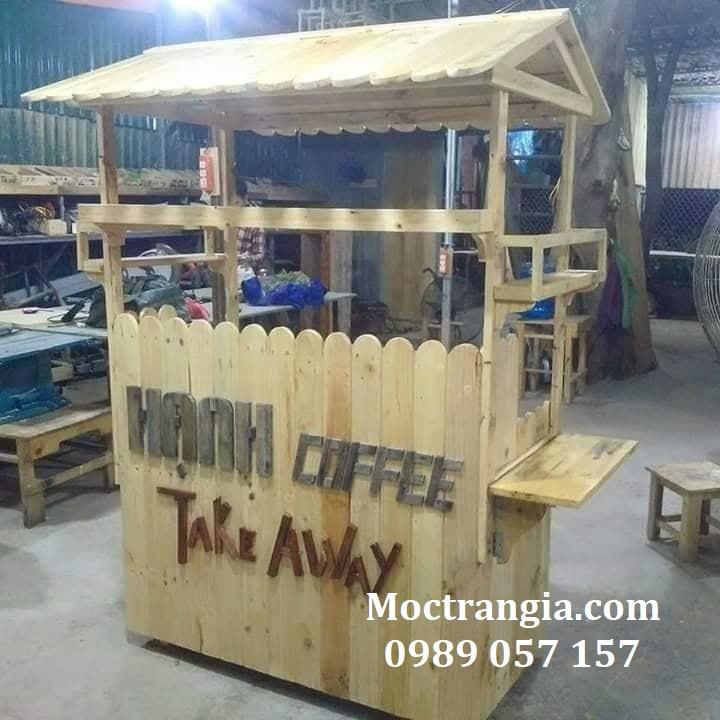 Quầy Bar Cafe Giá Rẻ 078GT