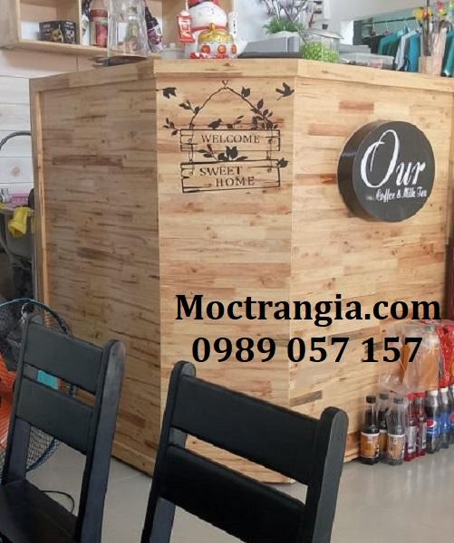 Quầy Bar Cafe Giá Rẻ 080GT
