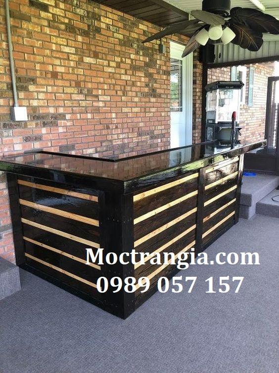 Quầy Bar Cafe Giá Rẻ 091GT
