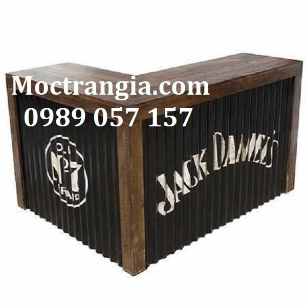 Quầy Bar Cafe Giá Rẻ 107GT
