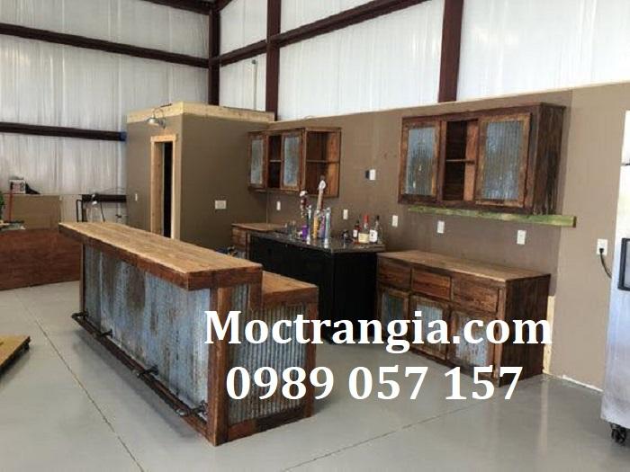 Quầy Bar Cafe Giá Rẻ 114GT