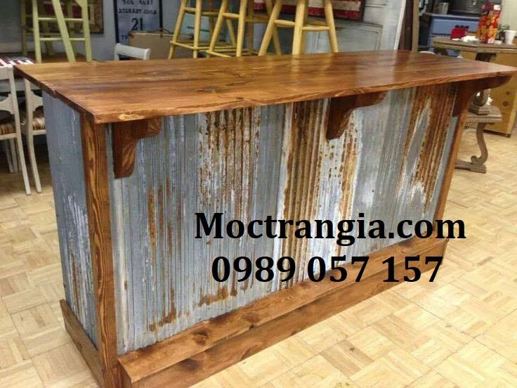 Quầy Bar Cafe Giá Rẻ 116GT