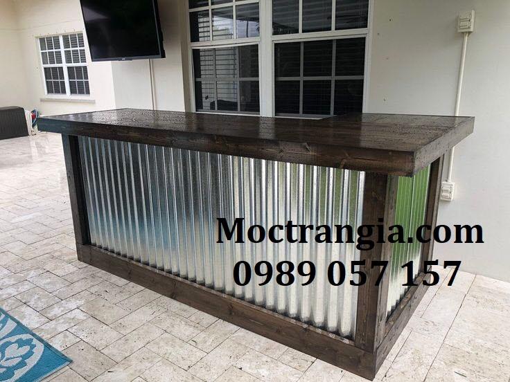 Quầy Bar Cafe Giá Rẻ 122GT