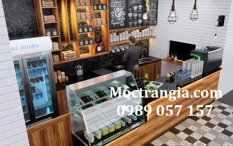 Quầy Bar Cafe Giá Rẻ 128GT
