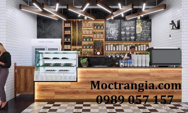 Quầy Bar Cafe Giá Rẻ 129GT