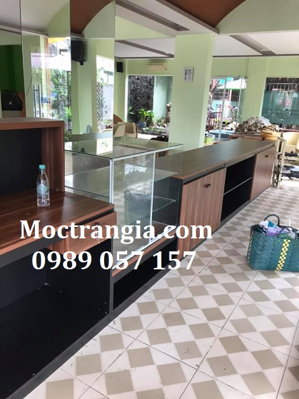 Quầy Bar Cafe Giá Rẻ 132GT