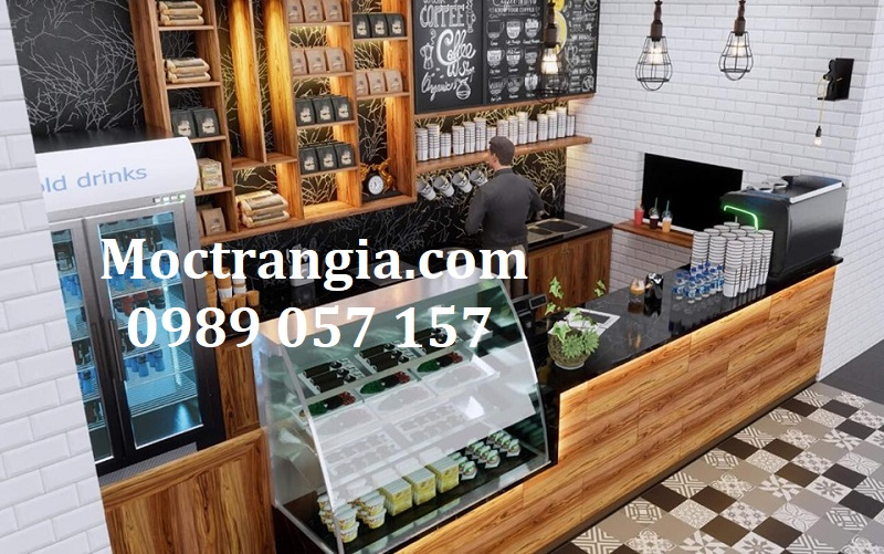 Quầy Bar Cafe Giá Rẻ 133GT