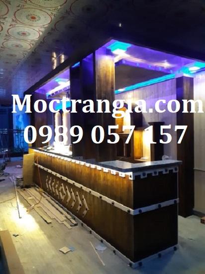 Quầy Bar Cafe Giá Rẻ 145GT