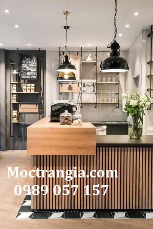 Quầy Bar Cafe Giá Rẻ 150GT