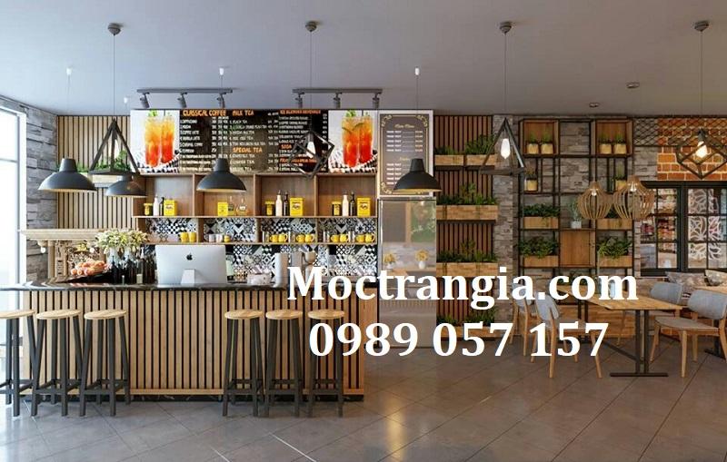 Quầy Bar Cafe Giá Rẻ 158GT